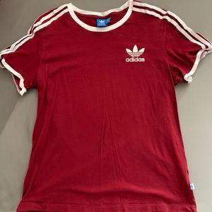 Adidas 3-stripe tshirt